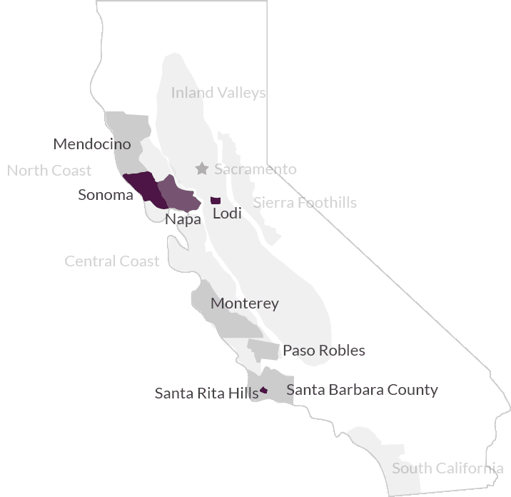 California Wine Vine Connections