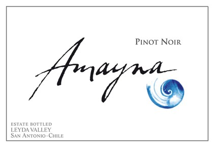 Pinot Noir 2012 Label