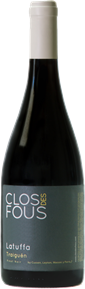 Pinot Noir, Latuffa 2012 Bottle Shot