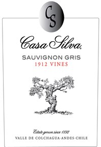 Sauvignon Gris 1912 Vines 2018 Label