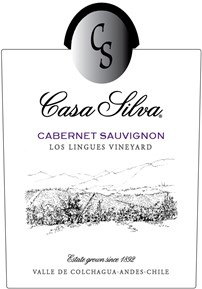 Cabernet Sauvignon, Los Lingues Vineyard 2014 Label
