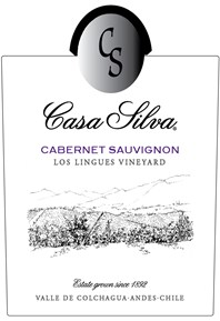 Cabernet Sauvignon, Los Lingues Vineyard 2017 Label