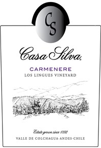 Carmenere, Los Lingues Vineyard 2016 Label