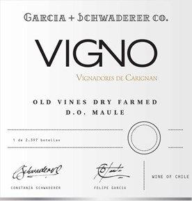 Vigno  2014 Label