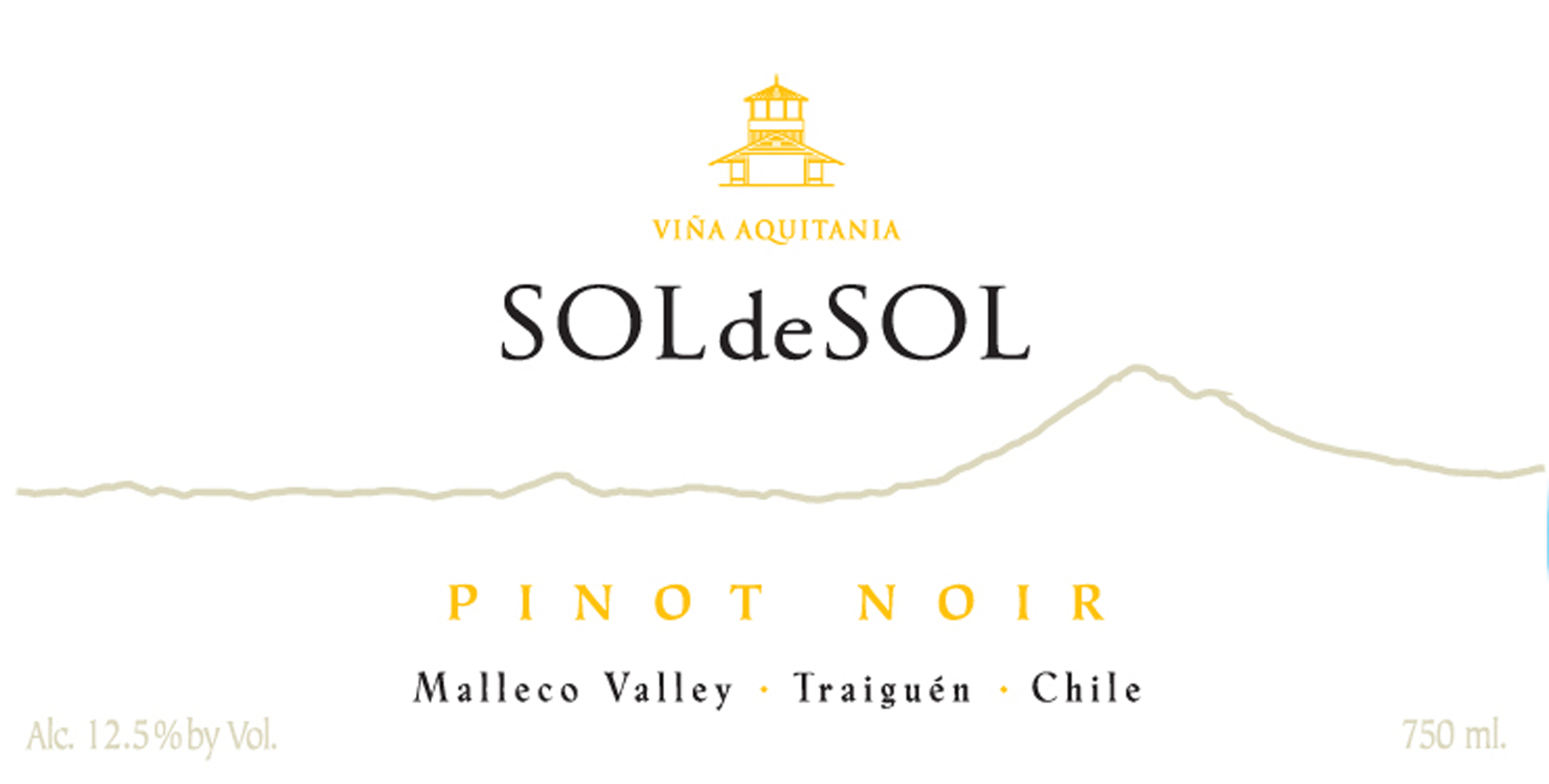 sol de sol pinot noir 2011 chilean wine vine connections. Black Bedroom Furniture Sets. Home Design Ideas