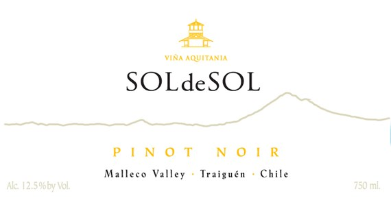 Pinot Noir 2011 Label