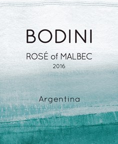 Rosé of Malbec 2016 Label