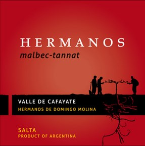 Malbec/Tannat 2013 Label