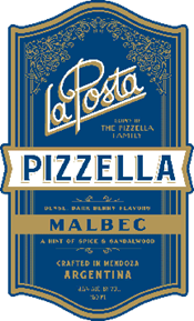 Pizzella Malbec 2017 Label