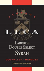 Laborde Double  Select Syrah 2014 Label