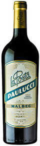 Paulucci Malbec 2017 Bottle Shot