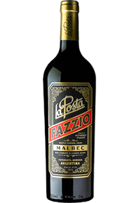 Fazzio Malbec 2017 Bottle Shot