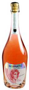 """Celestina"" Sparkling Rosé of Malbec 2015 Bottle Shot"