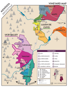 Estate Cabernet Sauvignon 2016 Regional Map