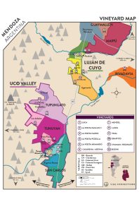 Rosé of Malbec 2018 Regional Map