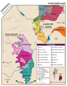 Estate Cabernet Sauvignon 2015 Regional Map