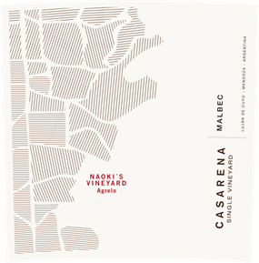 Single Vineyard Naoki's Malbec 2013 Label
