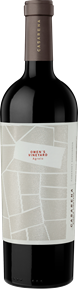 Single Vineyard Owen's Cabernet 2014 Bottle Shot
