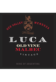 Old Vine Malbec 2015 Label