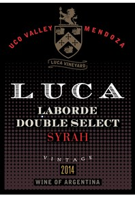Laborde Double  Select Syrah 2016 Label