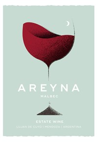 Areyna Malbec 2018 Label