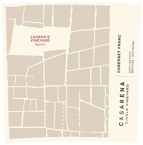 Single Vineyard Lauren's Cabernet Franc 2017 Label