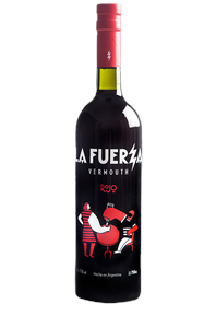 La Fuerza Rojo Vermouth Bottle Shot