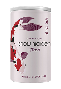 Snow Maiden Can Bottle Shot