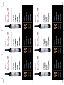 Cabernet Franc 2015 Shelf Talker