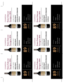 Estate Cabernet Sauvignon 2016 Shelf Talker