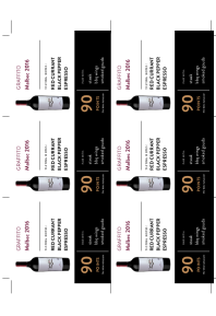 Malbec 2016 Shelf Talker