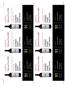 Cabernet Franc 2016 Shelf Talker