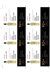 Semillon 2017 Shelf Talker
