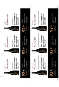 Pinot Noir 2015 Shelf Talker