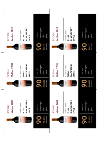 Malbec 2018 Shelf Talker
