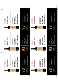 Malbec 2017 Shelf Talker