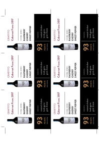 Cabernet Franc 2017 Shelf Talker